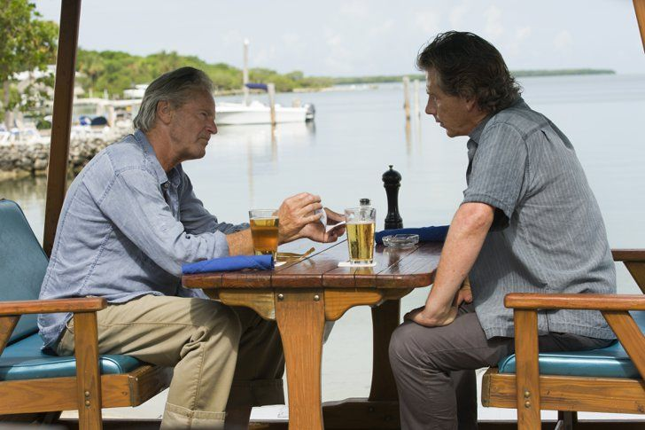 Pin for Later: The First Pictures of Kyle Chandler in Netflix's Bloodline Have Arrived  Sam Shepard and Mendelsohn have a pow wow.