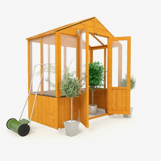 Buy BillyOh Wooden Polycarb Greenhouse - 3 x 6ft at Argos.co.uk - Your Online Shop for Greenhouses, Greenhouses and accessories, Conservatories, sheds and greenhouses, Home and garden.