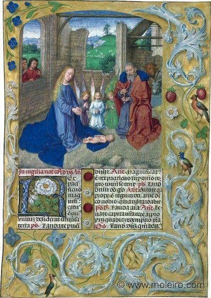 folio 28r, Breviario de Isabel la Católica