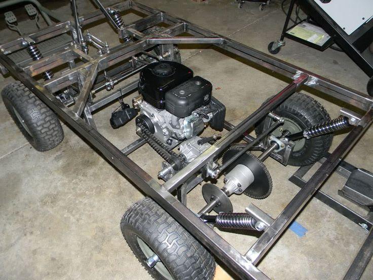 M274 Military Mule Half Scale Home Build Diy Go Kart