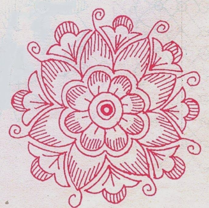 78 Best Images About Daily Use Rangoli On Pinterest Design Mandalas And Flower