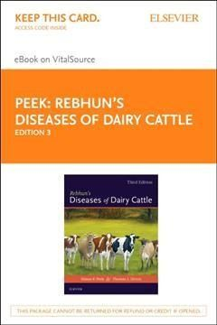 Rebhun's Diseases of Dairy Cattle - Elsevier Ebook on Vitalsource Retail Access Card