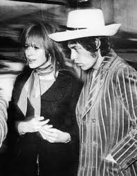 Mike Jagger & Marianne Faithfull