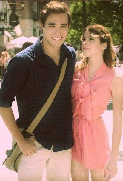 Leonetta, I love the way she looks up to him! ♥ AND I love his smile! ;)