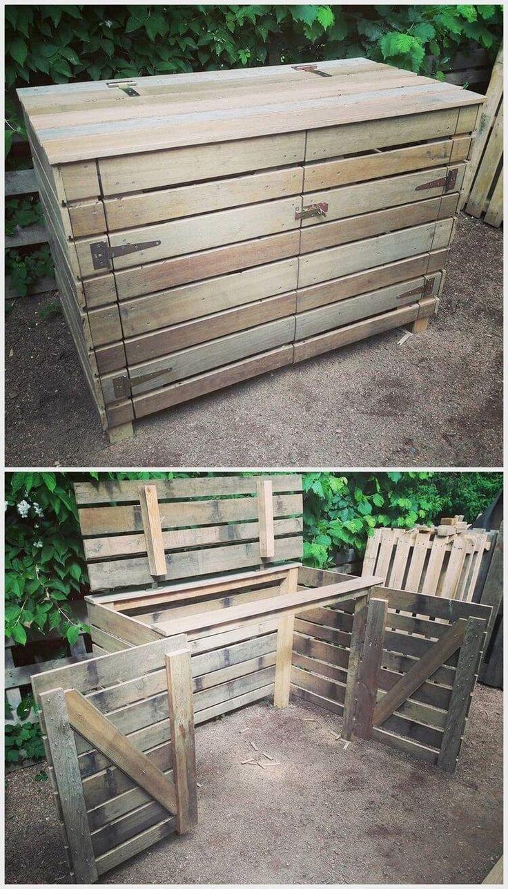 Fantastische Ideen für die Wiederverwendung von Holzpaletten