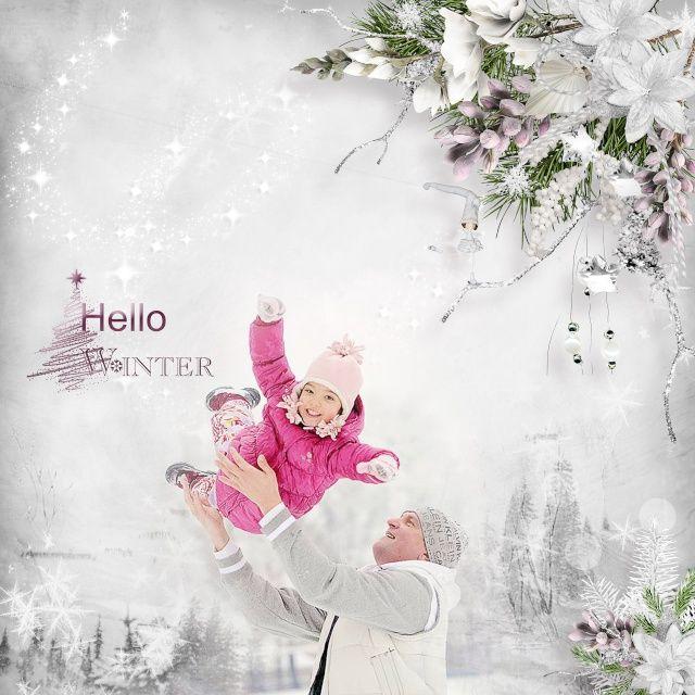 Let it snow by Black Lady designs