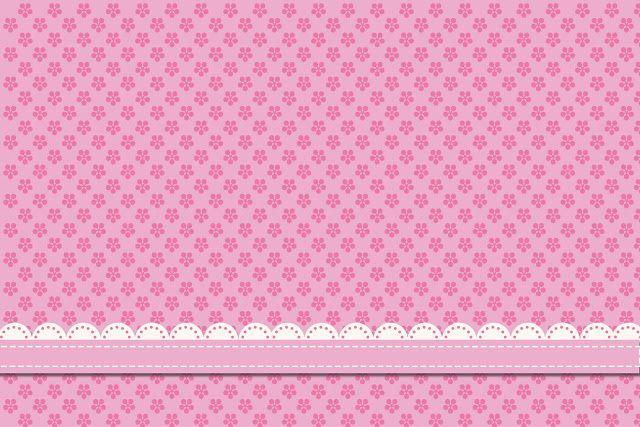 Armario Lavanderia ~ Flores Rosas Mini Kit com molduras para convites, rótulos para guloseimas, lembrancinhas e