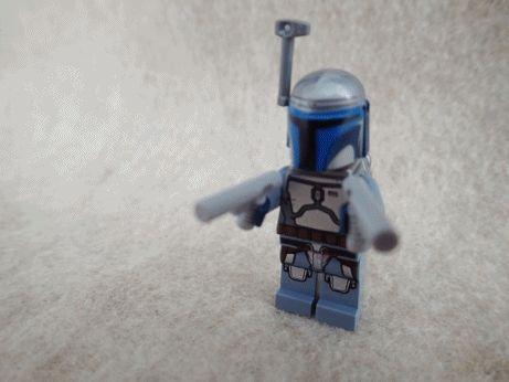 How to make Lego Jango Fett | The Plastic Figure World