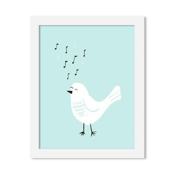 bird print - 8 x 10 print - JustGreet