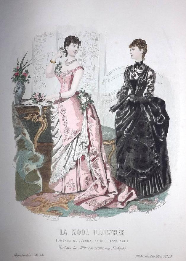 La Mode Illustrée 1884