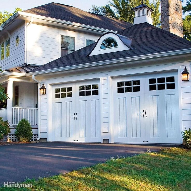 In the event of severe weather, reinforce your garage doors to prevent damage from high winds and debris.