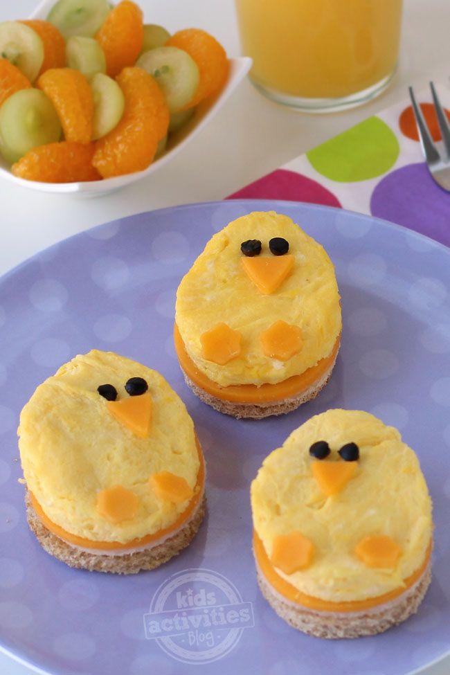 Spring Chick Breakfast Sancwiches