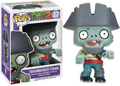 Funko POP! Games Plants VS Zombies 2 Swashbuckler Zombie Vinyl Action Figure 27