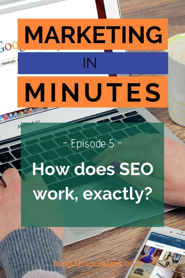 Marketing in Minutes – How does SEO work, exactly? – Podcast Episode