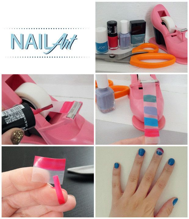 How to DIY Nail Stickers | DIY | Pinterest