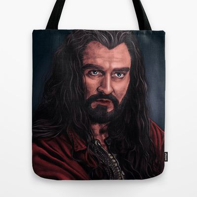 King Under The Mountain Tote Bag by Sofia Azevedo - $22.00