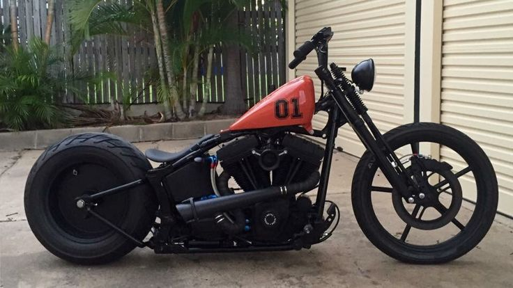 Harley Bobber Chopper : Photo
