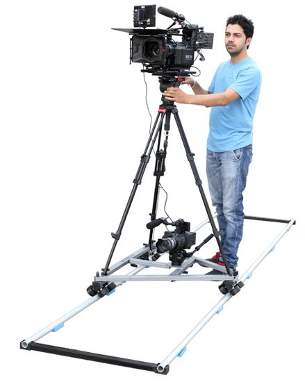 PROAIM 12ft Swift Dolly System with 12ft Straight Track
