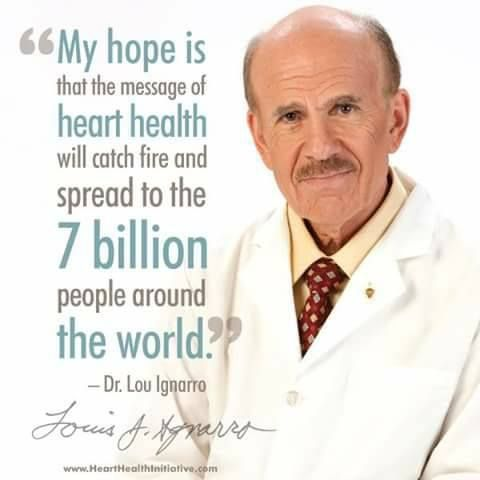 SPREAD THIS HOPE, SHARE this! Let's help Nobel Prize Winner Dr. Lou Ignarro to spread the info about HEART HEALTH that can SAVE LIVES! For more details, contact me TODAY! SABRINA Call +12143290702 https://www.goherbalife.com/goherb