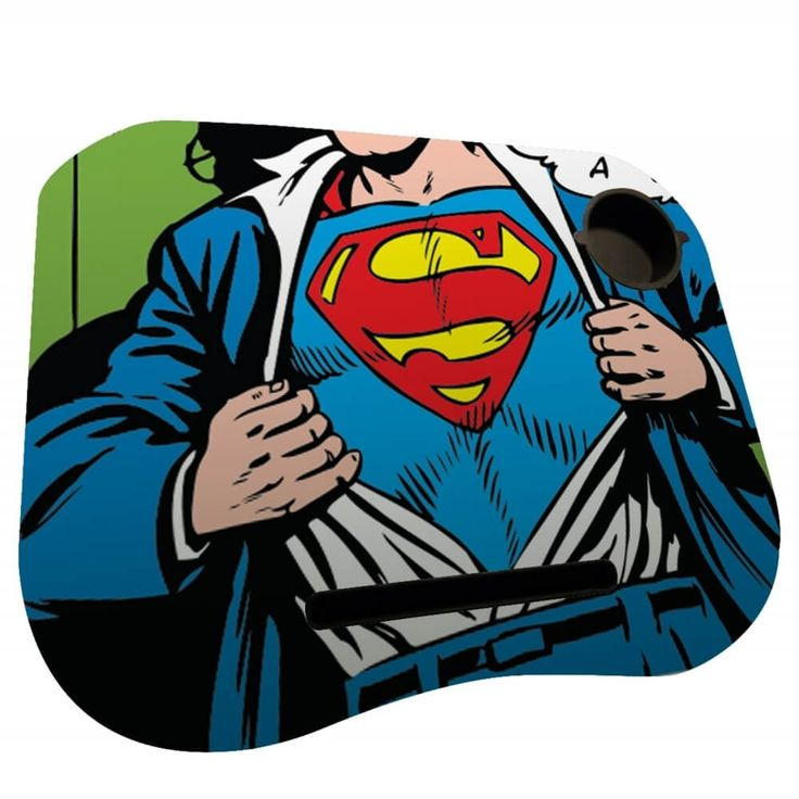 Bandeja para Notebook Superman DC Comics - 48 x 38 x 6,5 cm