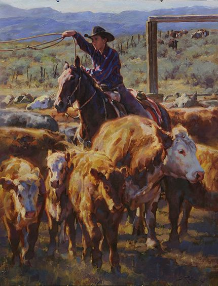 """Young Roper"" by Jason Rich (Cowboy Artist)"
