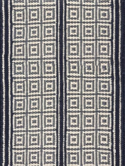 Woven Grid Stripe Rug Victoria Hagan For Holland Amp Sherry