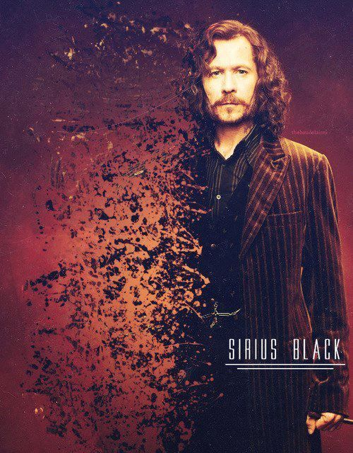 Sirius Black- still my absolute favorite character....never more distressed than when Bellabitch used the killing curse on him...