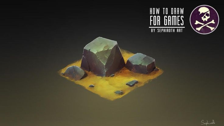 How to Draw for Games #12 | Isometric Stone