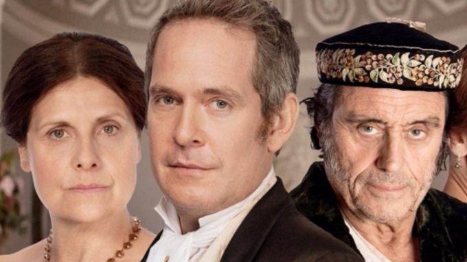 Rebecca Front, Tom Hollander and Ian McShane star in Dr Thorne.