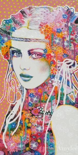 Painting © Amylee (Paris) http://pinterest.com/amyleeparis/art-amylee-paris/