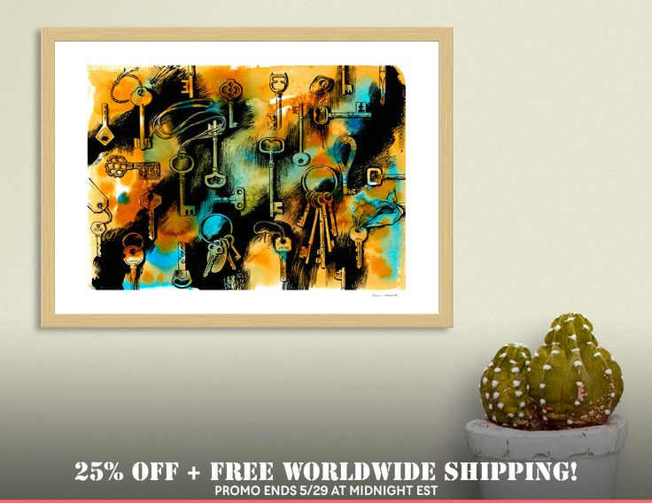 Discover «Keys», Numbered Edition Fine Art Print by Irina Ivanova - From $19 - Curioos