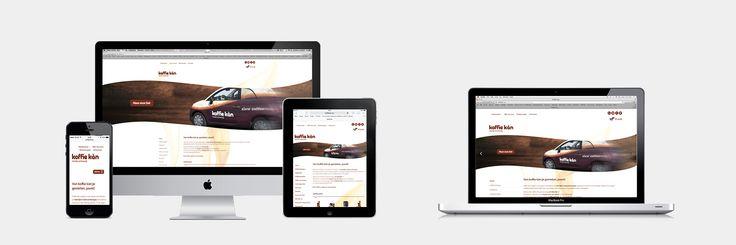 Koffie Kàn - Website realisatie - Communicatie en reclamebureau 2design Roeselare - Grafisch ontwerp, webdesign en apps - Webshop