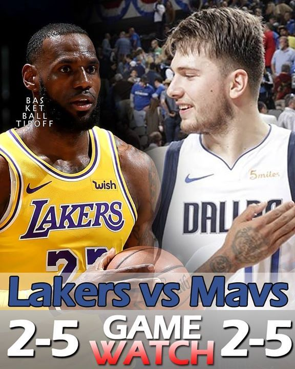 Dallas Mavericks Vs Los Angeles Lakers Is Expected To Be The