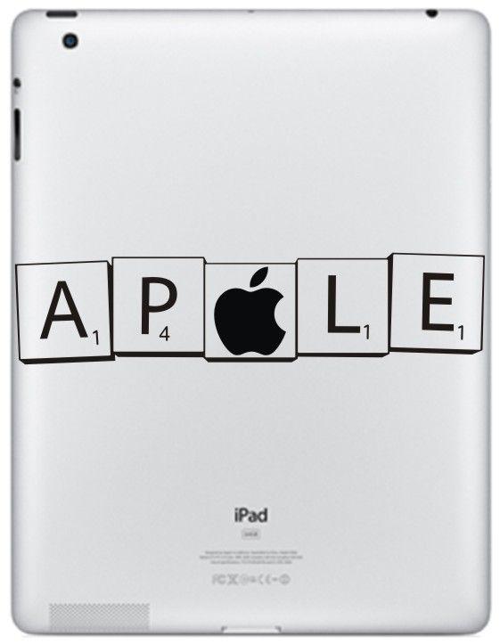 Med Apple dekalen på din #MacBook blir det lite knepigare att se äpplet.