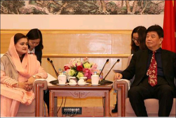 Marriyum welcomes Chinese cooperation in film production infrastructure