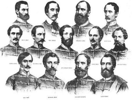 """Aulich Lajos (1793–1849)német honvéd tábornok """"Szolgáltam, szolgáltam, mindig csak szolgáltam. És halálommal is szolgálni fogok. Forrón szere"""