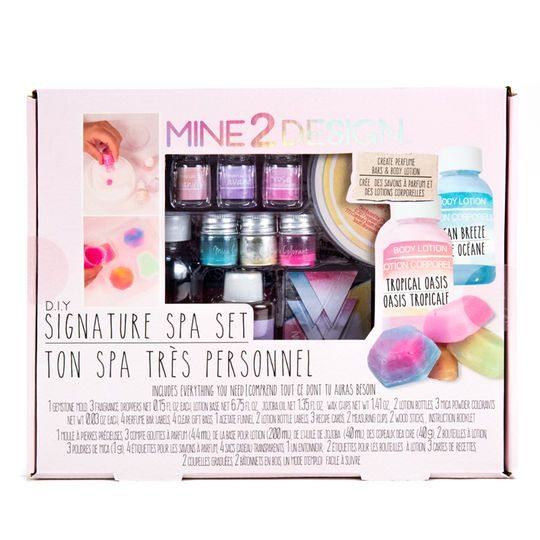 Mine 2 Design DIY Signature Spa Set
