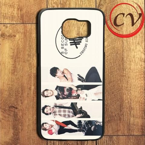 5sos Five Second Of Summers Samsung Galaxy S6 Edge Plus Case