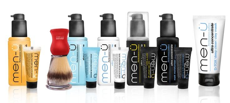 Men-U - scheren en huidverzorging voor mannen. Multi award winnende producten. Diverse cadeau sets speciaal voor hem.