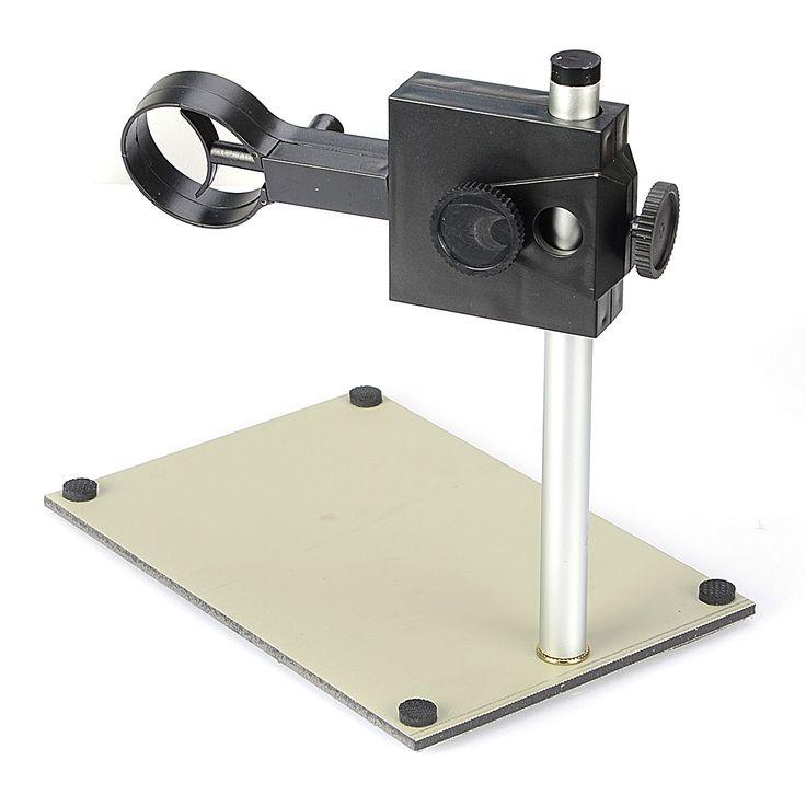Portable ajustable de enfoque manual digital usb microscopio titular de soporte de apoyo ajustar hacia arriba y hacia abajo