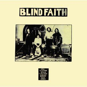 Replacement cover for Blind Faith's only album. Original Artwork was banned in US. Band included Eric Clapton, Jack Bruce and Ginger Baker. Name of band was taken from the photographer's (Bob Seidemann) title of the photo for the original cover. See on Amazon http://www.amazon.com/gp/product/images/B000001FDI/ref=dp_otherviews_0?ie=UTF8=0=music