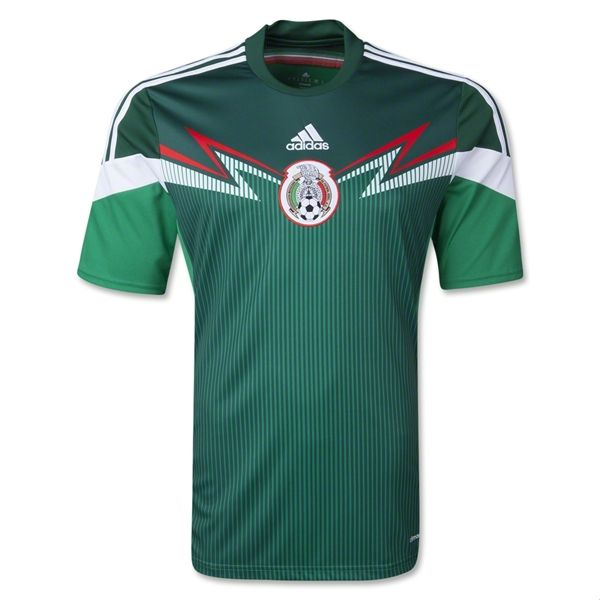 buy online 7af81 53fb2 2014 world cup mexico 14 chicharito home soccer aaa plus t ...