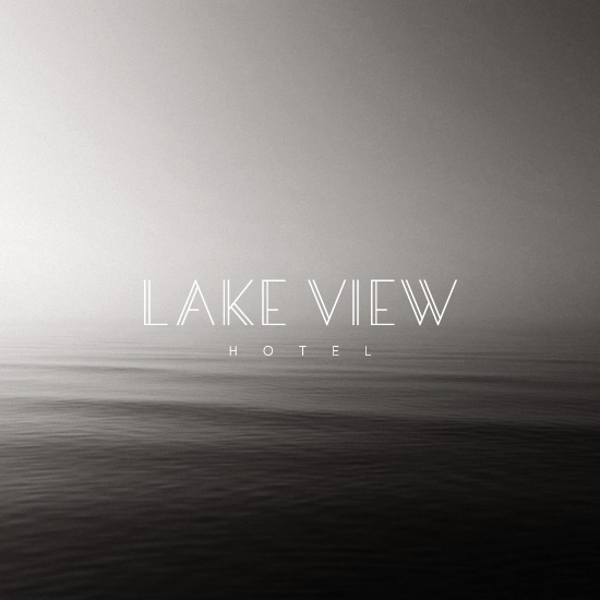 House of Branding | Lake View Hotel Logo and Branding. Peaceful.