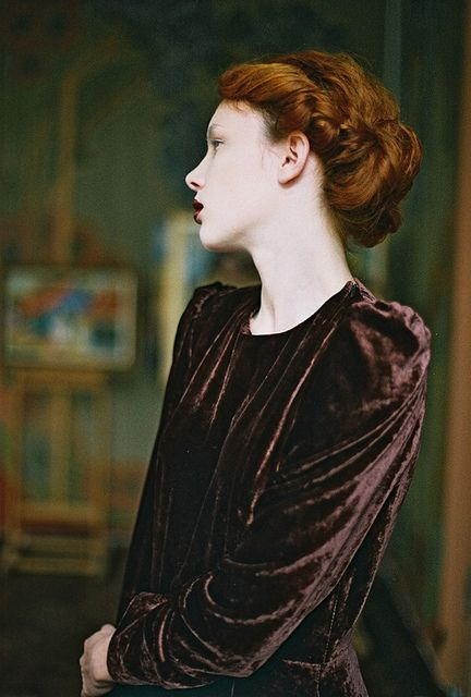 Photo by Anna Didenko for The Look magazine #elf #preraphaelite