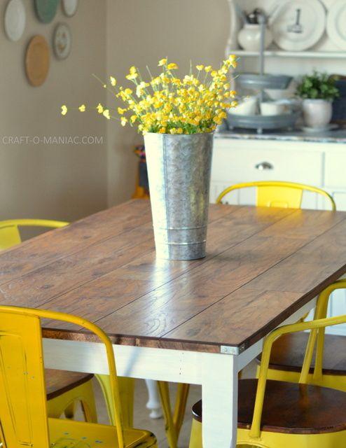 25+ best Rustic kitchen tables ideas on Pinterest