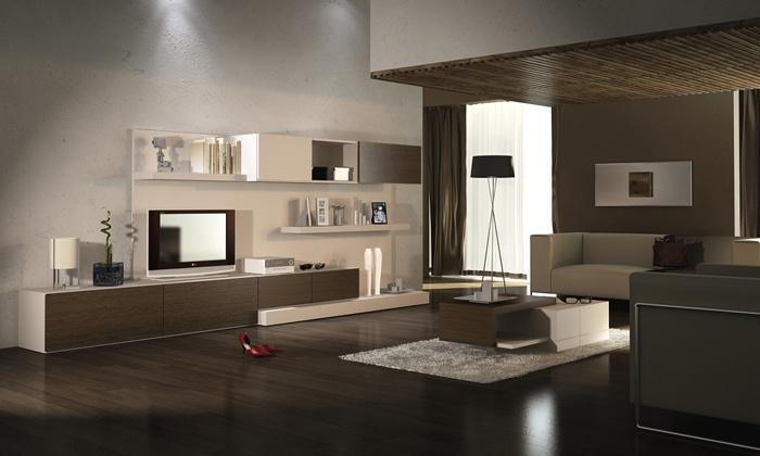 Minimal - mueble tv + guardado  www.rodenmobel.com