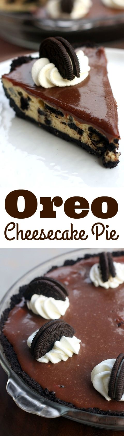 Oreo Cheesecake Pie--three steps to the easiest Oreo cheesecake ever! The BEST dessert! | Tastes Better From Scratch