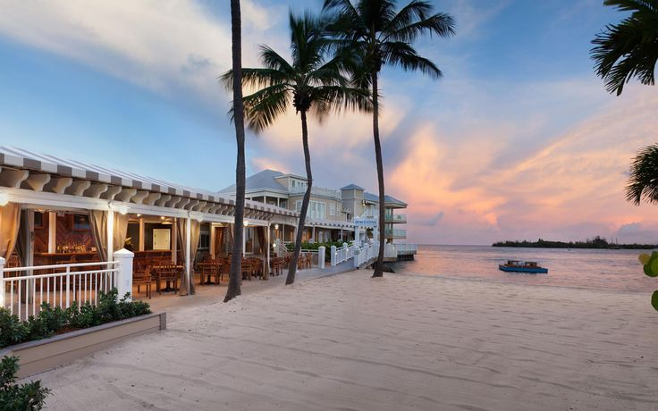The Pier House Resort & Spa in Key West sits on the edge of Key West's Old Town. The 142-room hotel has a private beach and strikes a lovely balance between sandy bliss and traditional Key West quirkiness.