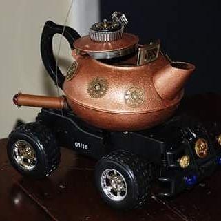 #Steampunk  #inventor