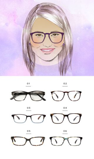 1. Classic Specs, $89 / 2. Warby Parker, $95 / 3. Warby Parker, $95 / 4. Warby Parker, $145 / 5. Lookmatic, $99 (similar) / 6. Warby Parker, $95